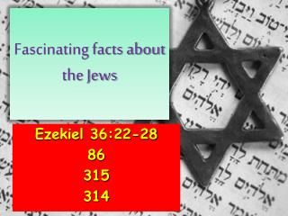 Fascinating facts about the Jews