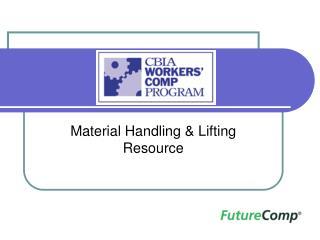 Material Handling & Lifting Resource