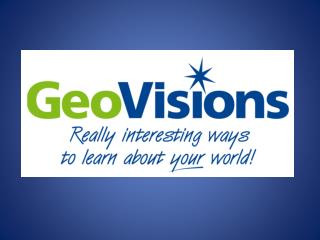 Welcome to the GeoVisions Work/Travel Program
