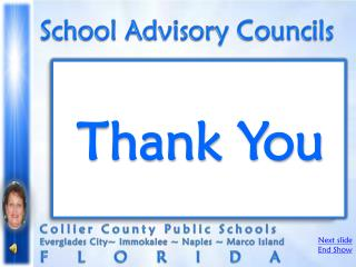 School Advisory Councils