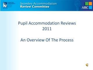 Pupil Accommodation Reviews 2011 An Overview Of The Process