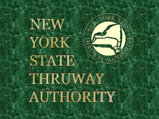 NEW YORK STATE THRUWAY AUTHORITY
