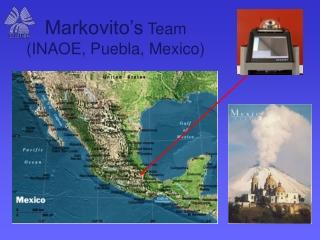 Markovito's Team (INAOE, Puebla, Mexico)