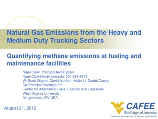Alternative fuels for heavy vehicles What is the bottom line