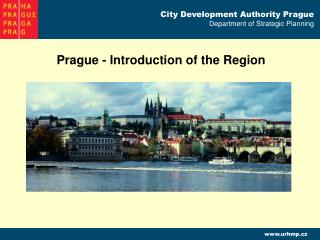 Prague - Introduction of the Region