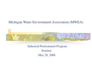 Michigan Water Environment Association (MWEA)