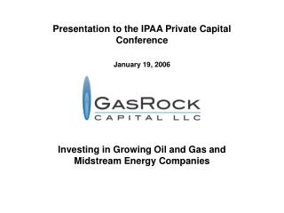 Investing in Growing Oil and Gas and Midstream Energy Companies