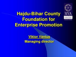 Hajdu-Bihar County Foundation for  Enterprise Promotion