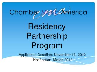 Residency Partnership Program