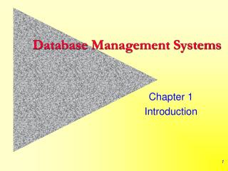 Database Management Systems