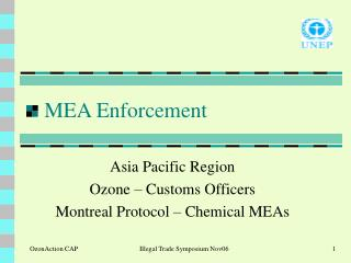 MEA Enforcement