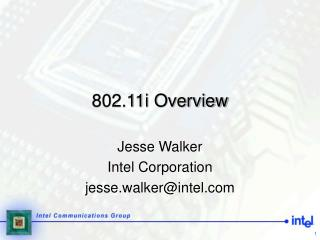802.11i Overview