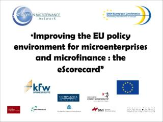 Improving the EU policy environment for micro-enterprises and microfinance