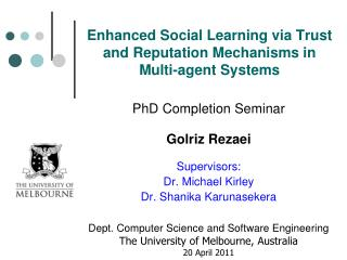 Enhanced Social Learning via Trust and Reputation Mechanisms in Multi-agent Systems