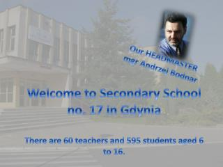 Welcome to Secondary School  no. 17 in Gdynia