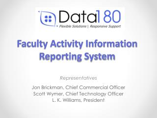 Faculty Activity Information Reporting System