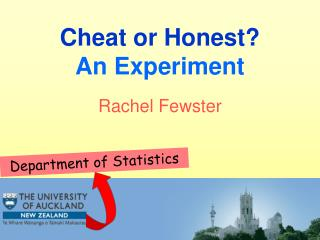 Cheat or Honest? An Experiment