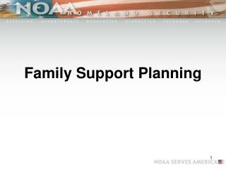 Family Support Planning