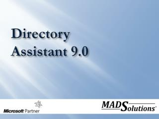 Directory Assistant 9.0