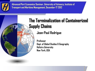 Import Export, Logistics  Supply Chain Management
