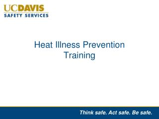 Heat Illness Prevention Training