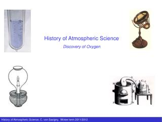 History of Atmospheric Science Discovery of Oxygen