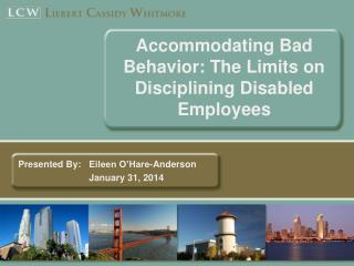 Accommodating Bad Behavior: The Limits on Disciplining Disabled Employees