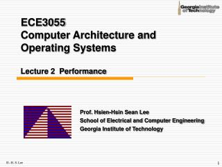 ECE3055  Computer Architecture and Operating Systems Lecture 2  Performance
