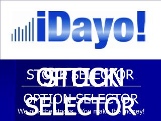 STOCK SELECTOR