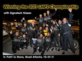 The Petit Le Mans 2011 spot from were I didn't move during 10 hours.
