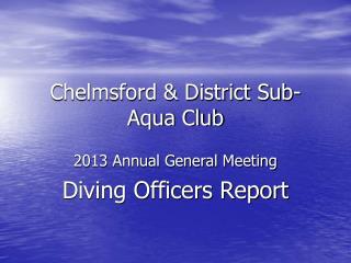 Chelmsford & District Sub-Aqua Club