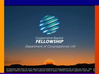 Department of Congregational Life