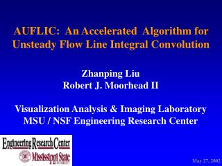 AUFLIC:  An Accelerated  Algorithm for Unsteady Flow Line Integral Convolution
