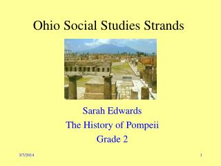 Ohio Social Studies Strands