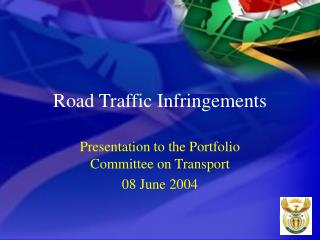 Road Traffic Infringements