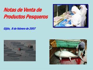 Notas de Venta de Productos Pesqueros Gijón,  8 de febrero de 2007