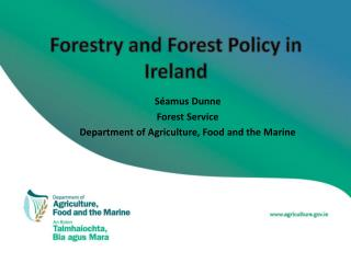 Forestry and Forest Policy in Ireland