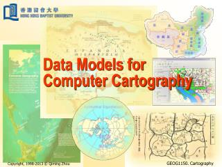 Data Models for Computer Cartography