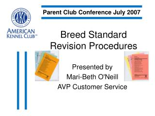 Breed Standard Revision Procedures