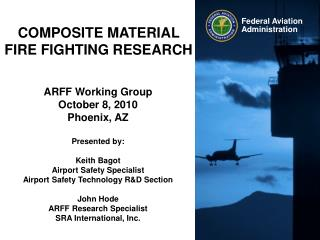 COMPOSITE MATERIAL FIRE FIGHTING RESEARCH