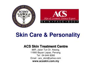 Skin Care & Personality