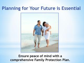 Planning for Your Future is Essential