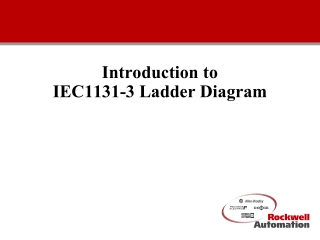 Introduction to IEC1131-3 Ladder Diagram