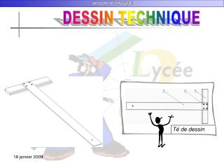 DESSIN TECHNIQUE