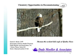 Chemistry Opportunities in Decommissioning
