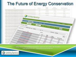 The Future of Energy Conservation