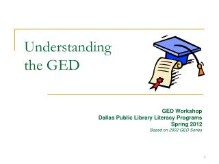 Understanding  the GED