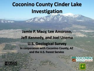 Coconino County Cinder Lake Investigation