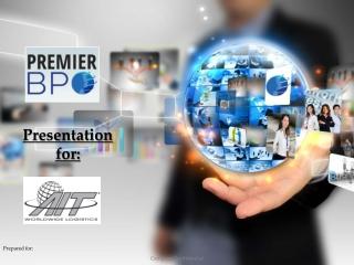 Presentation f or: