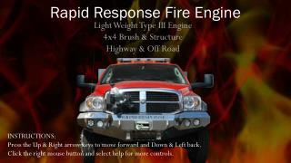 Rapid Response Fire Engine